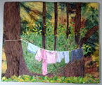 Forest Laundry Day