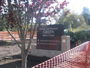 greenmusiccentersign