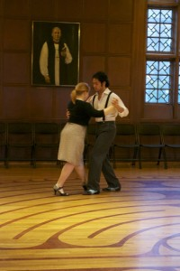 tangodancers