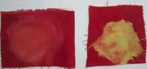 red dischargesamples