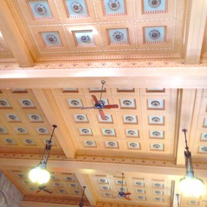 unionstation ceiling