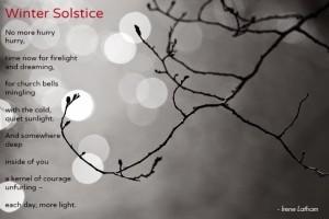 Irene Latham winter solstice poem