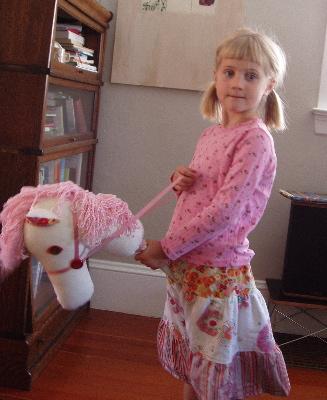 Pinkhobbyhorse