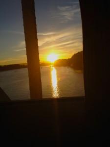 sunsetfromtrain