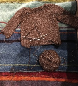 brownsweaterprogress